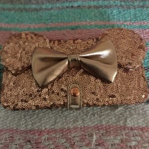 Disney's rosegold phone case